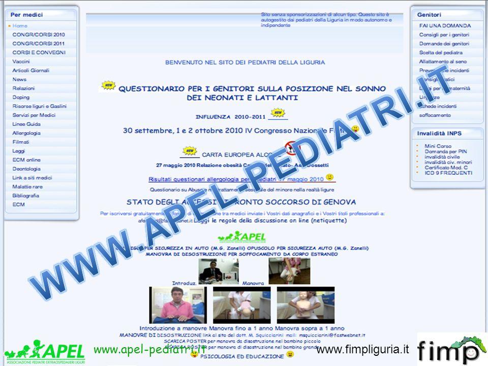 www.apel-pediatri.it www.fimpliguria.it www.apel-pediatri.it www.fimpliguria.it