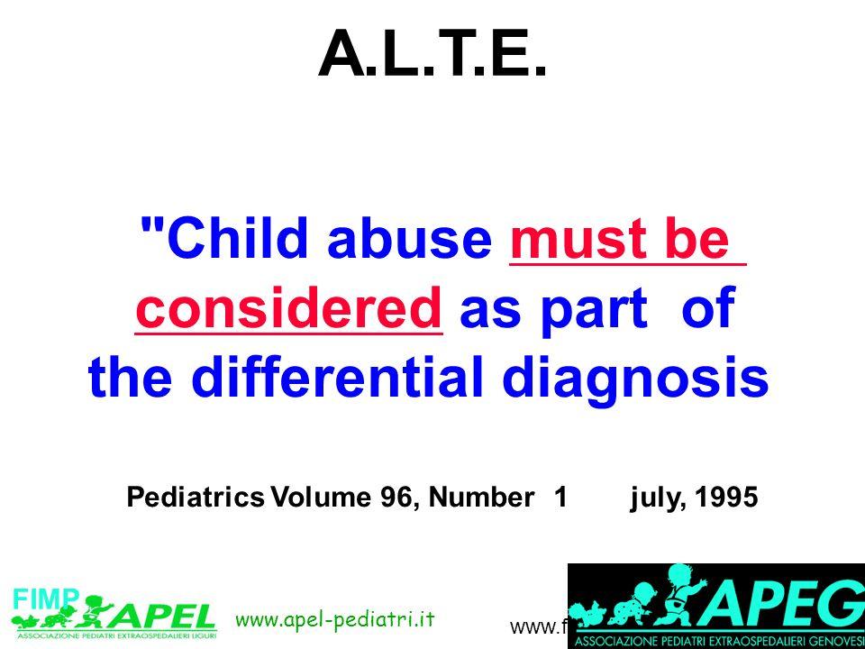 www.apel-pediatri.it www.fimpliguria.it FIMP A.L.T.E.
