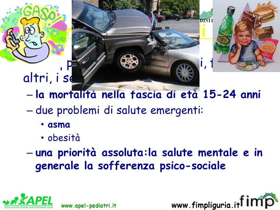 FED. REG. ORDINI DEI MEDICI DELLA LIGURIA www.apel-pediatri.it www.fimpliguria.it