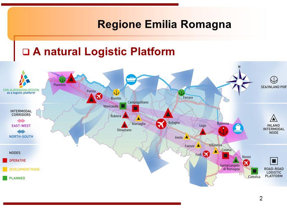 2 Regione Emilia Romagna A natural Logistic Platform