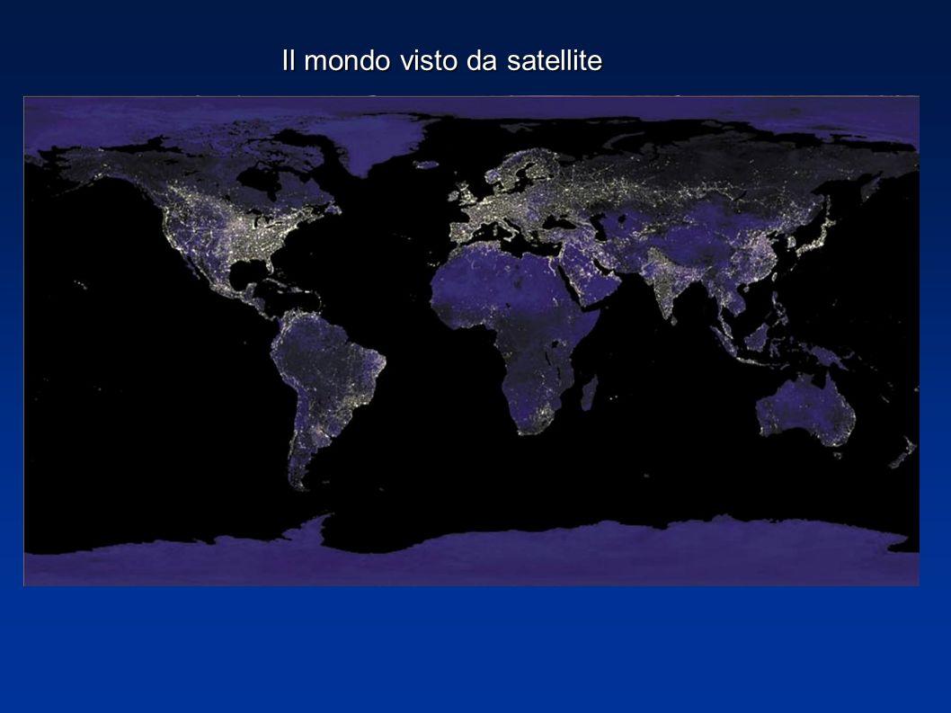 Il mondo visto da satellite
