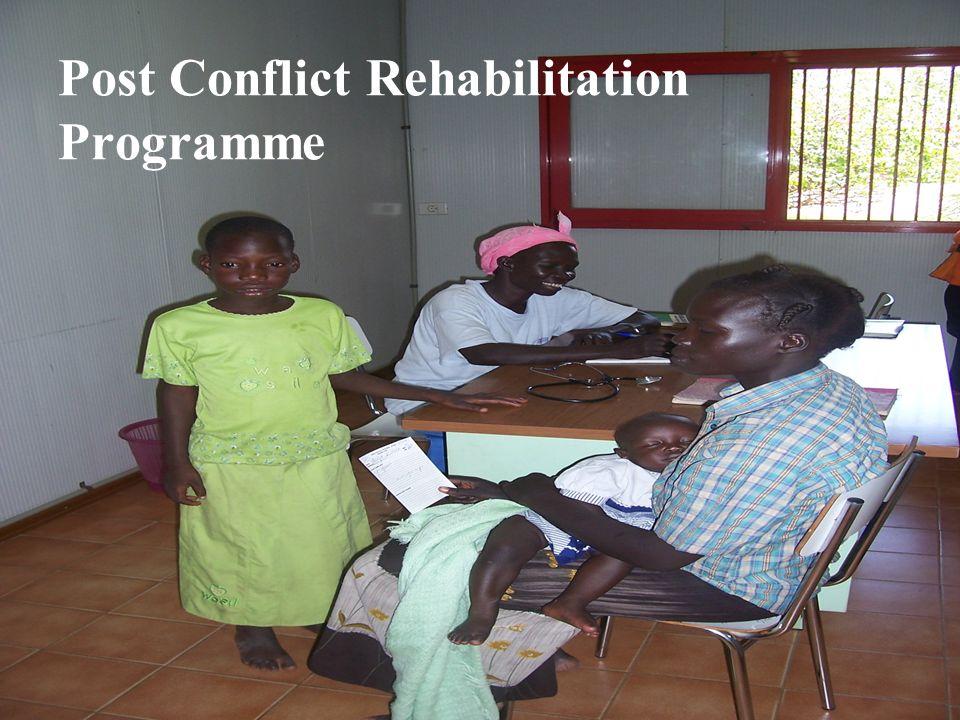 Marco Sala OVCI Ufficio Progetti Post Conflict Rehabilitation Programme