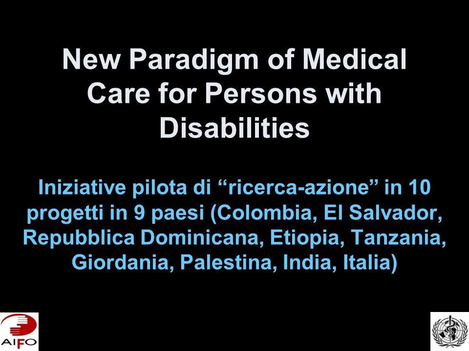Logica dellIniziativa (1) Organizzazione dei servizi sanitari avviene sulla base di un paradigma non più adatto: il paradigma dei bisogni acuti – –Operatore esperto e cliente passivo –In breve tempo il problema si risolve –Sindrome del radar, non esiste ne prima ne dopo