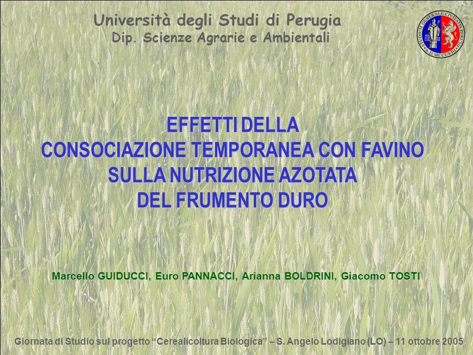 Giornata di Studio sul progetto Cerealicoltura Biologica – S.