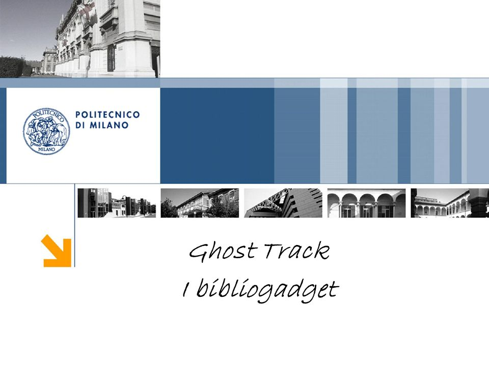 Ghost Track I bibliogadget
