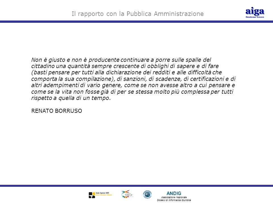 ANDIG Associazione Nazionale Docenti di Informatica Giuridica Laccesso alla Rete è un diritto fondamentale Fonte: http://mashable.com/2008/04/11/guy-bono-net-access-eu/