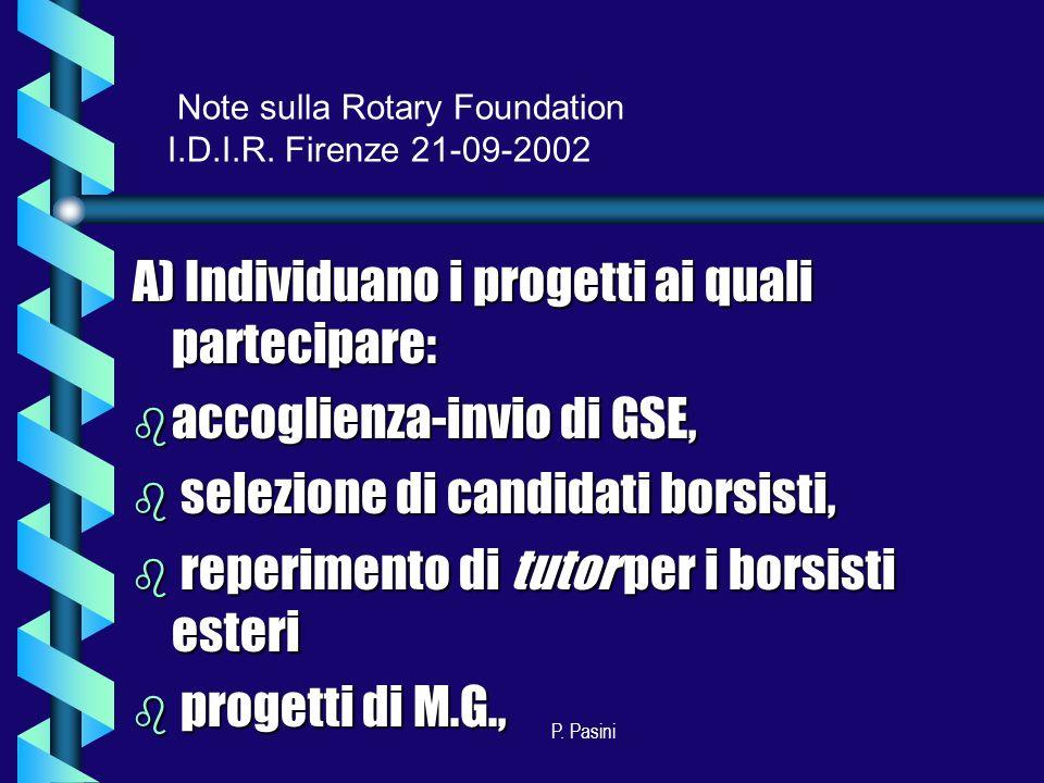 P.Pasini Distretto 2070 e R.F.