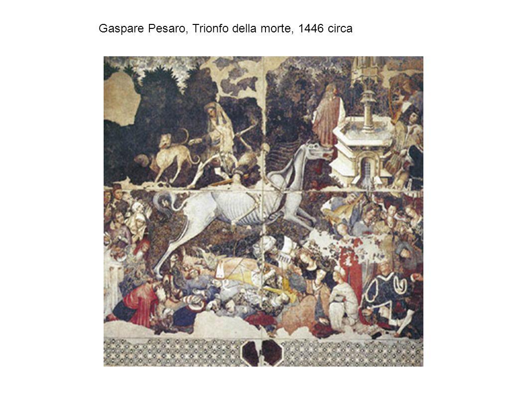 Gaspare Pesaro, Trionfo della morte, 1446 circa