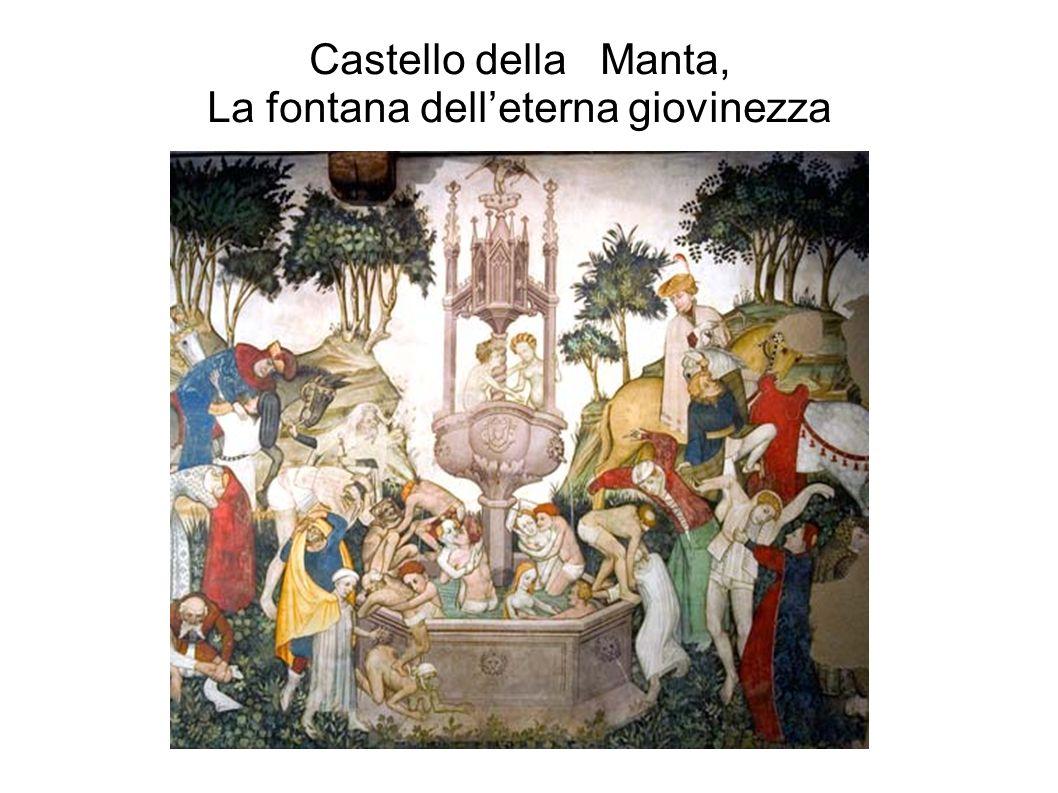 Castello della Manta, La fontana delleterna giovinezza