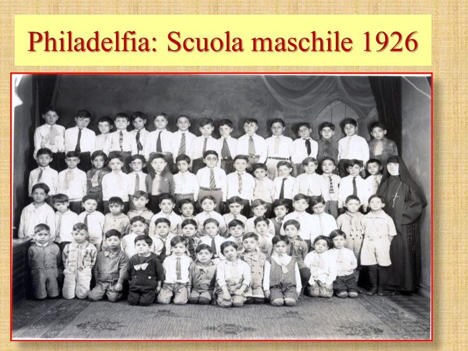 Philadelfia: Scuola maschile 1926