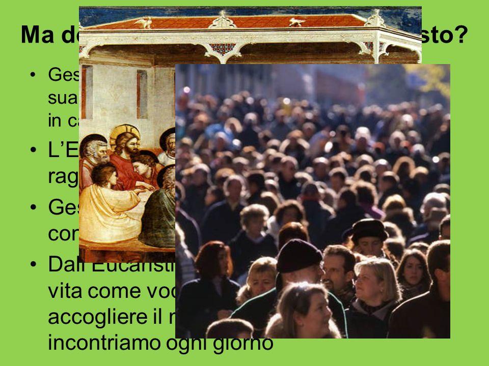 Ma dove accade lincontro con Cristo? Gesù stesso ha stabilito un metodo perché la sua libertà compiuta raggiunga la nostra libertà in cammino: il sacr