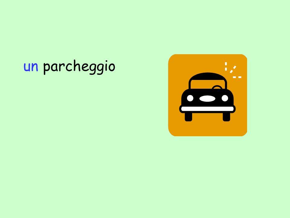 un parcheggio