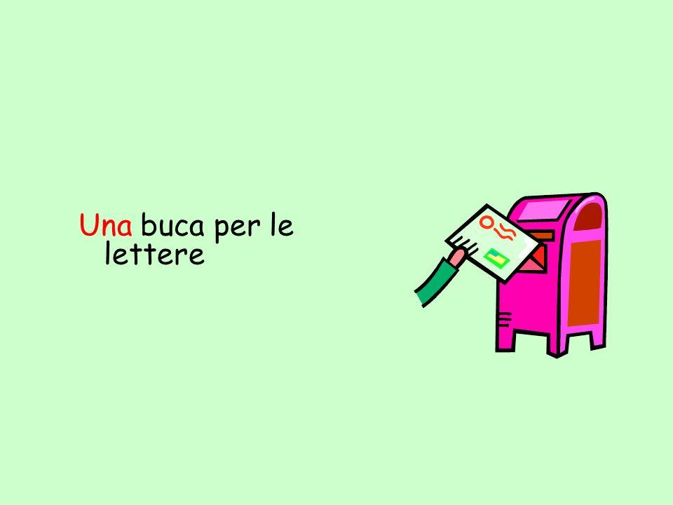 Una buca per le lettere