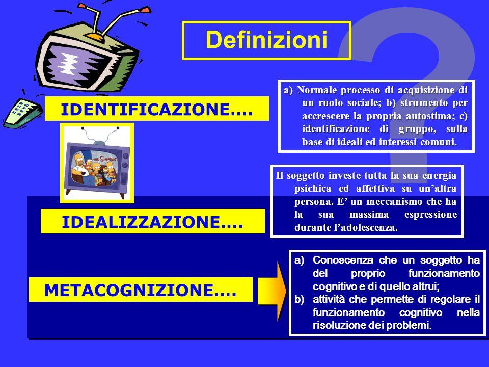 Definizioni IDENTIFICAZIONE….