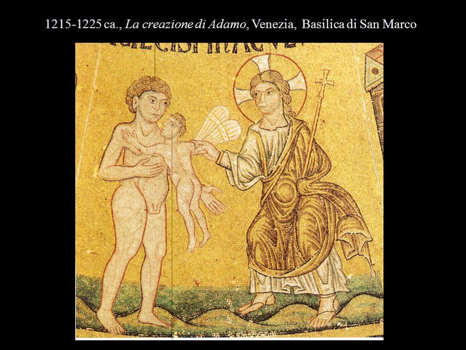 1215-1225 ca., La creazione di Adamo, Venezia, Basilica di San Marco