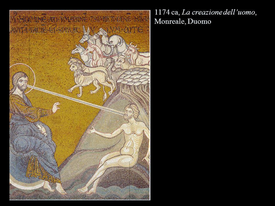 1174 ca, La creazione delluomo, Monreale, Duomo