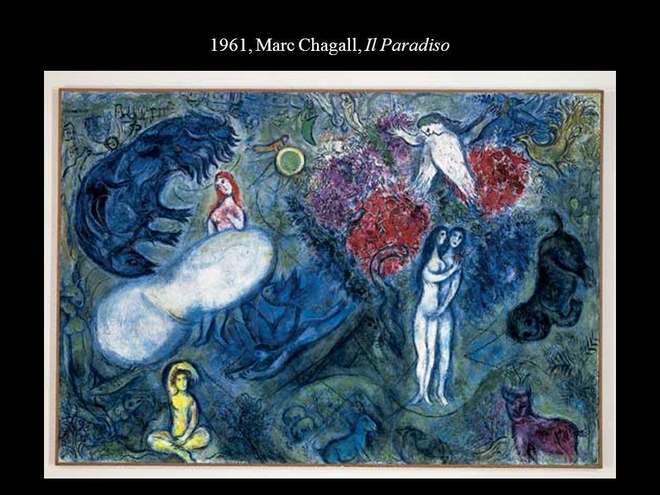 1961, Marc Chagall, Il Paradiso