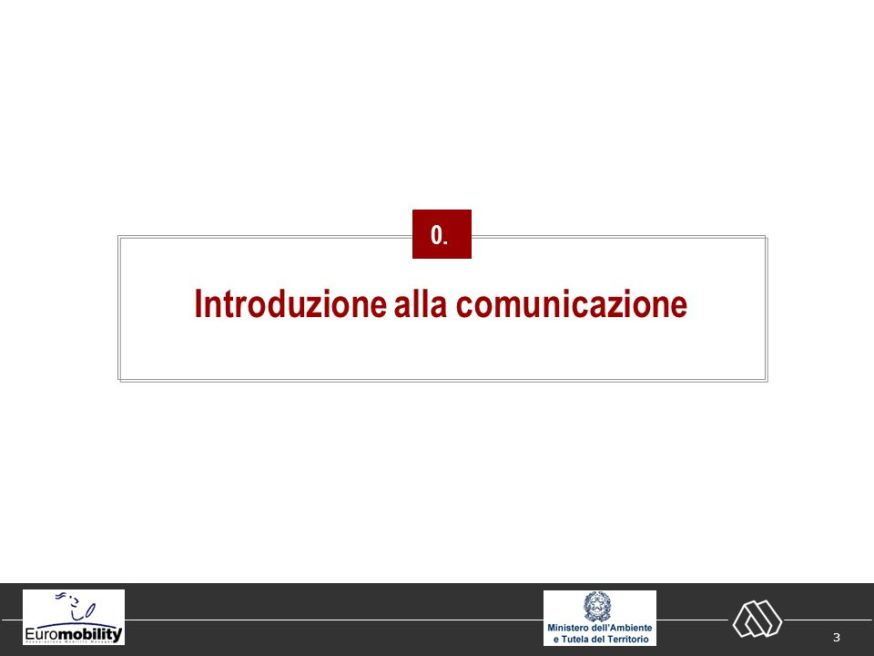 3 Introduzione alla comunicazione 0.