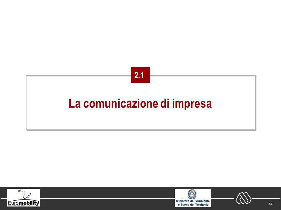 34 La comunicazione di impresa 2.1