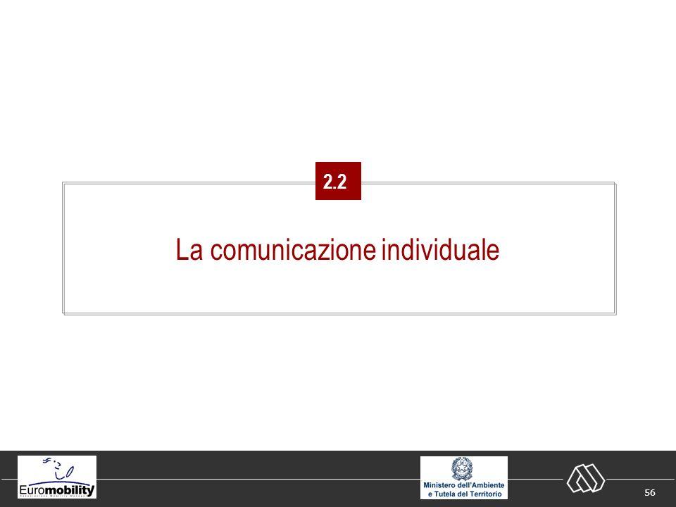 56 La comunicazione individuale 2.2