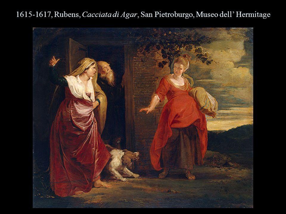 1615-1617, Rubens, Cacciata di Agar, San Pietroburgo, Museo dell Hermitage