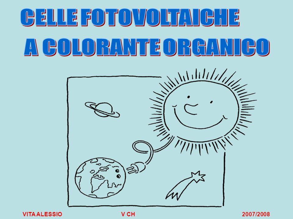Realizzazione di una cella di Graetzel Per estrarre la clorofilla abbiamo effettuato una cromatografia su colonna dellestratto di spinaci.