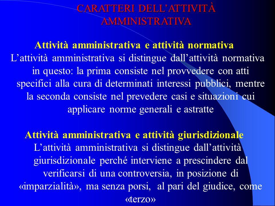 Lattività amministrativa Lamministrazione centrale Le autorità amministrative indipendenti I principi costituzionali sullamministrazione Gli atti ammi