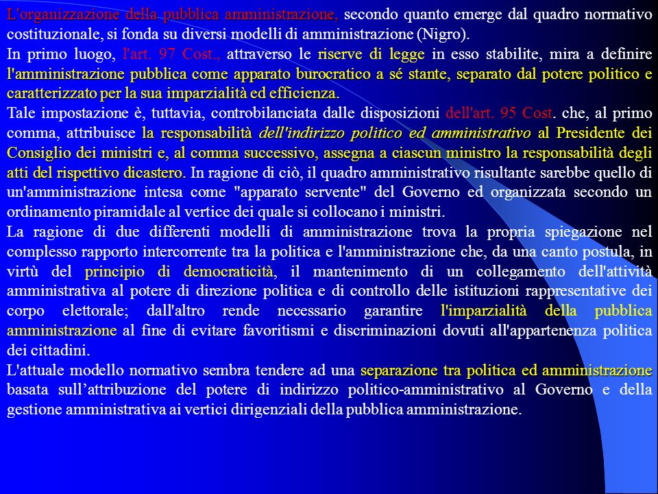 CARATTERI DELLATTIVITÀ AMMINISTRATIVA CARATTERI DELLATTIVITÀ AMMINISTRATIVA Attività amministrativa e attività normativa Lattività amministrativa si d