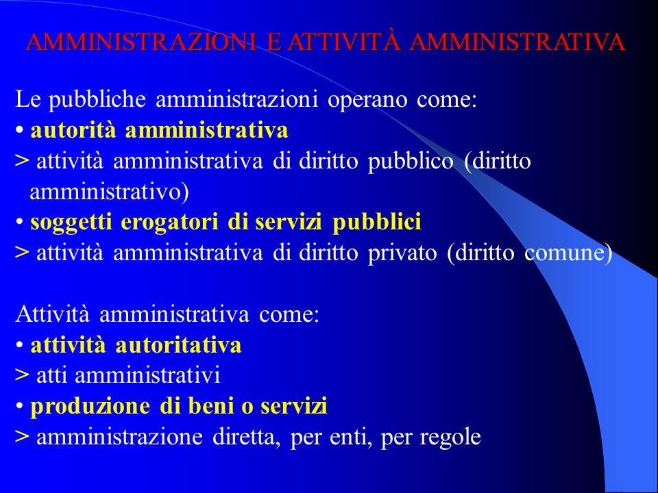 L'organizzazione della pubblica amministrazione, L'organizzazione della pubblica amministrazione, secondo quanto emerge dal quadro normativo costituzi