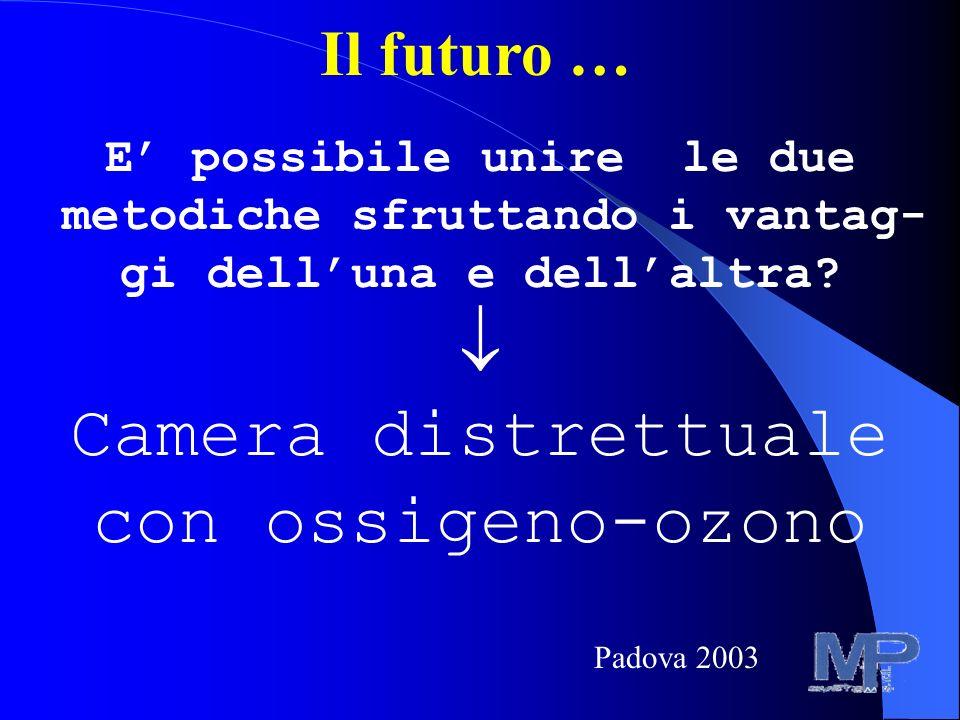 Il futuro … E possibile unire le due metodiche sfruttando i vantag- gi delluna e dellaltra.