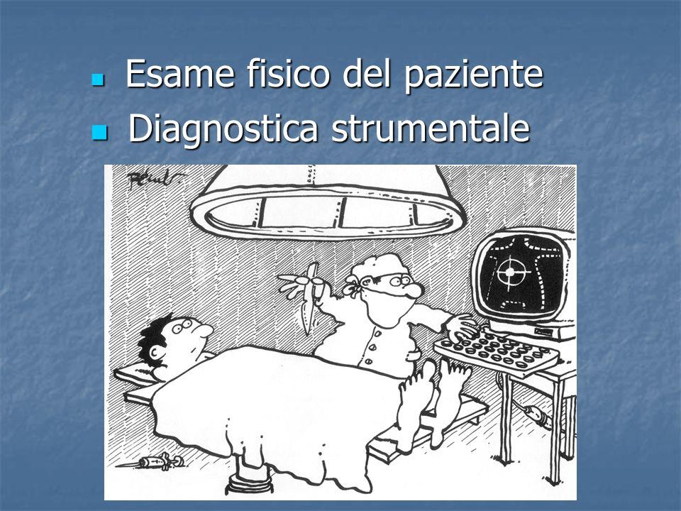 Esame fisico del paziente Esame fisico del paziente Diagnostica strumentale Diagnostica strumentale 196