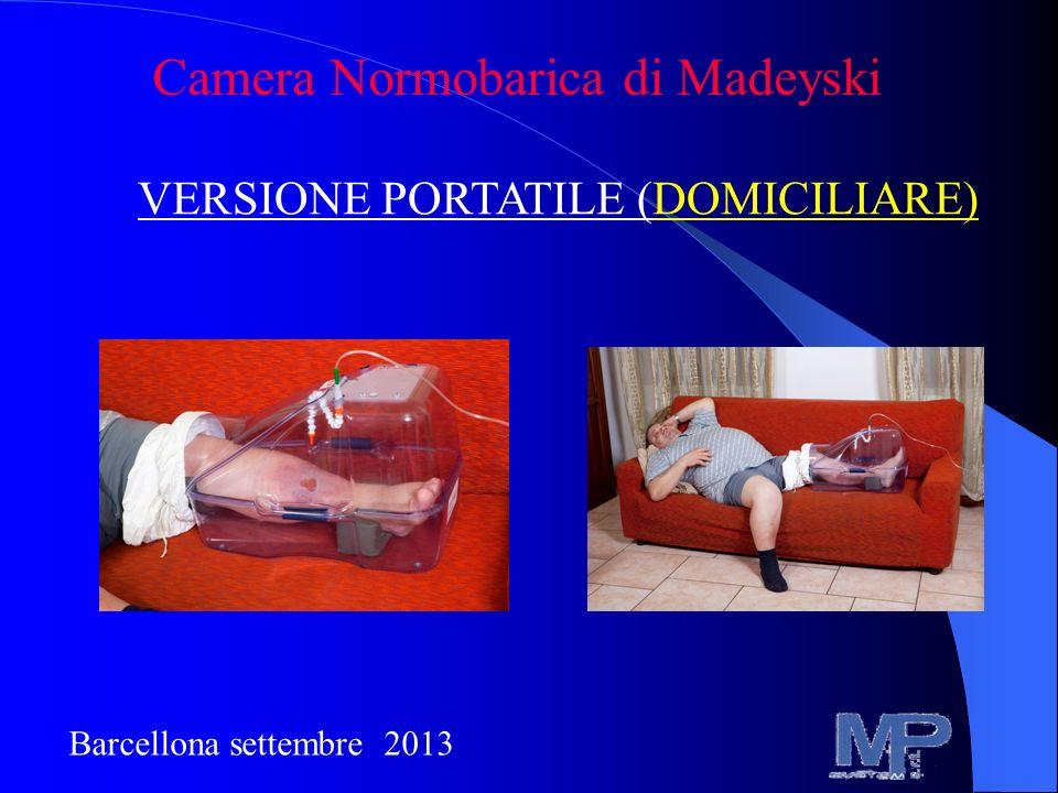 Camera Normobarica di Madeyski VERSIONE PORTATILE (DOMICILIARE) Barcellona settembre 2013