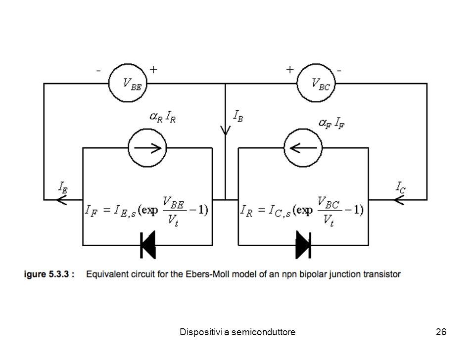 Dispositivi a semiconduttore27 Amplificatore di tensione e/o corrente