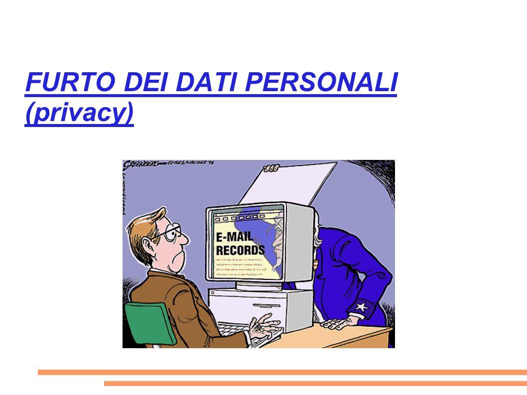 I dati personali (nome, cognome, email...ecc) non sono liberamente utilizzabili da chiunque per il solo fatto di trovarsi in rete.