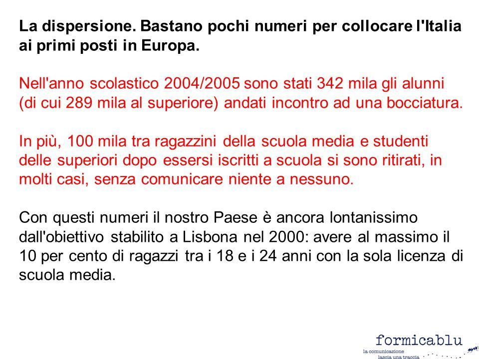 http://www-958.ibm.com/v/112953 N. studenti/popolazione regione Fonte: Elaborazione dati Istat