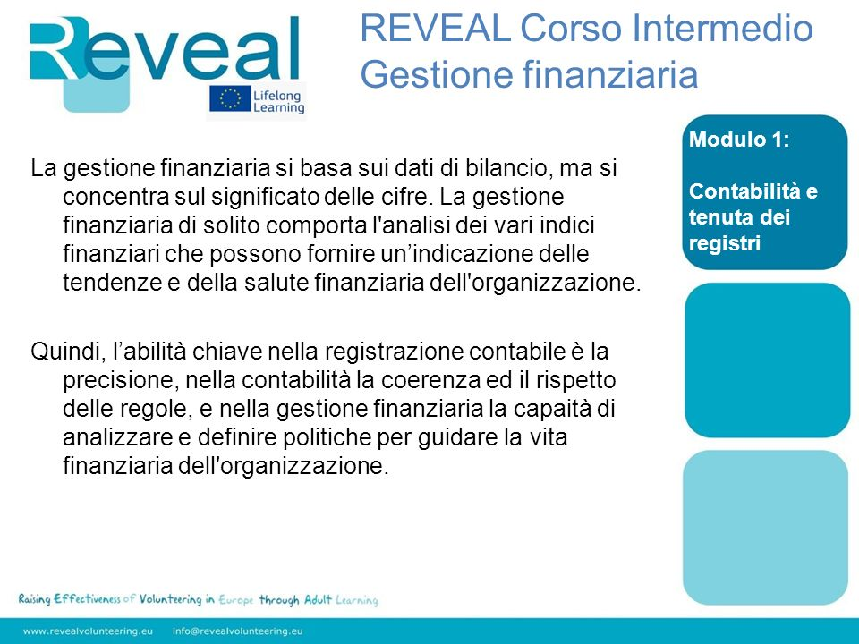 La gestione finanziaria si basa sui dati di bilancio, ma si concentra sul significato delle cifre.