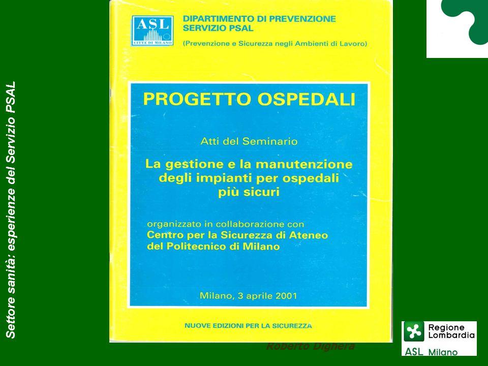 Progetto sanità 2005 Roberto Dighera Settore sanità: esperienze del Servizio PSAL