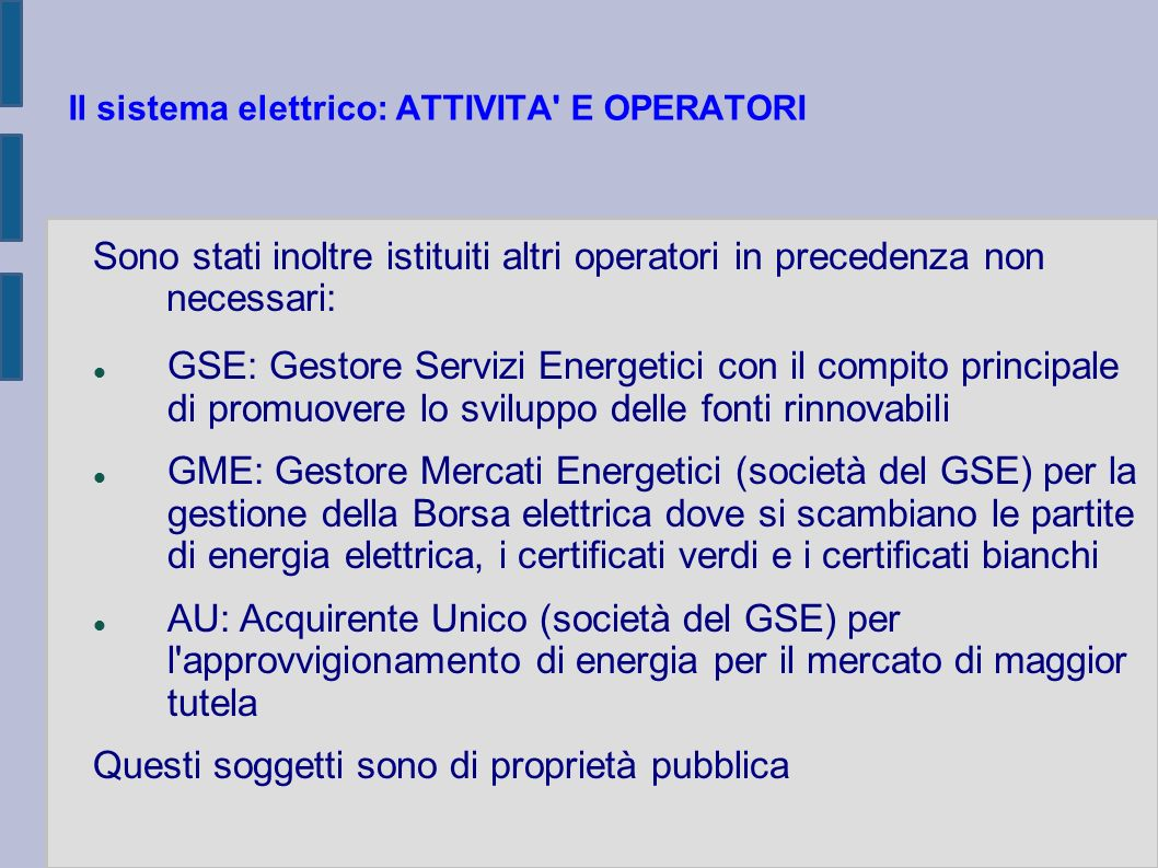 CARATTERISTICA DEI CONTATORI (Art.