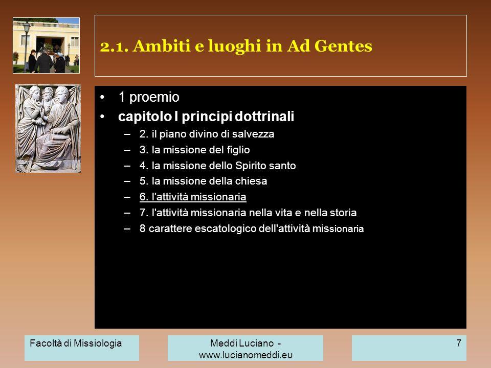 2.1.Ambiti e luoghi in Ad Gentes laboratorio\ alunni precedenti dopo una primavera un rigetto.