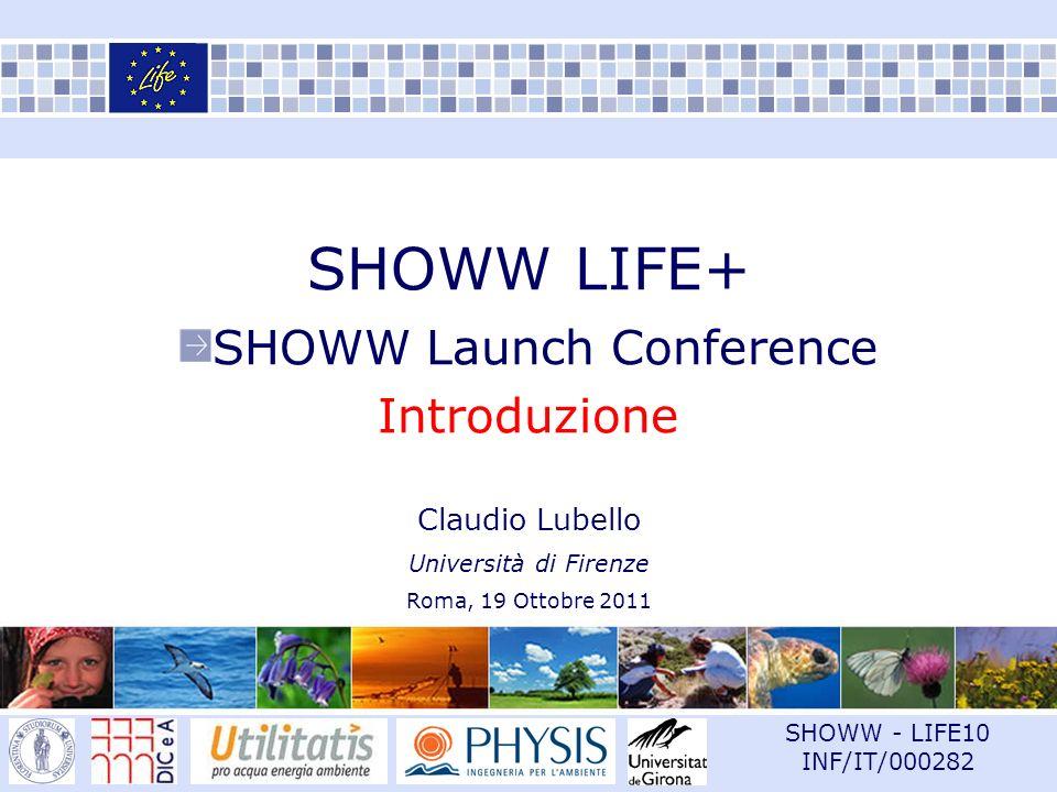 Sommario Introduzione I progetti LIFE LIFE+ 2007-2013 Il progetto SHOWW La scelta dei progetti Macro aree di intervento Tipologia di acqua reflua Website Roma, 19 Ottobre 20111