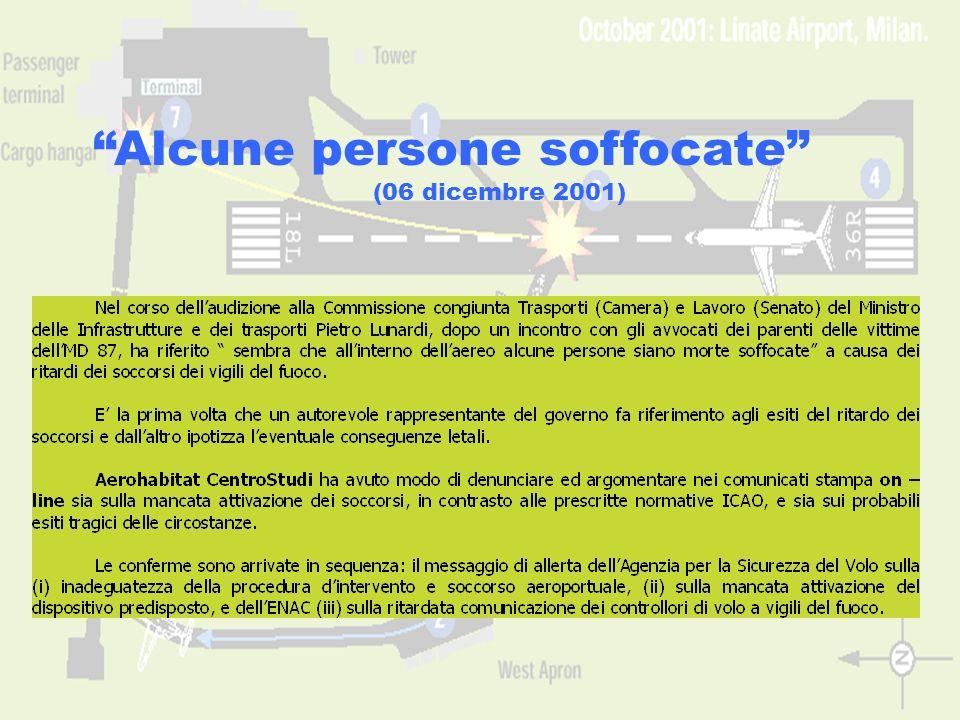 www.aerohabitat.org15 Alcune persone soffocate (06 dicembre 2001)