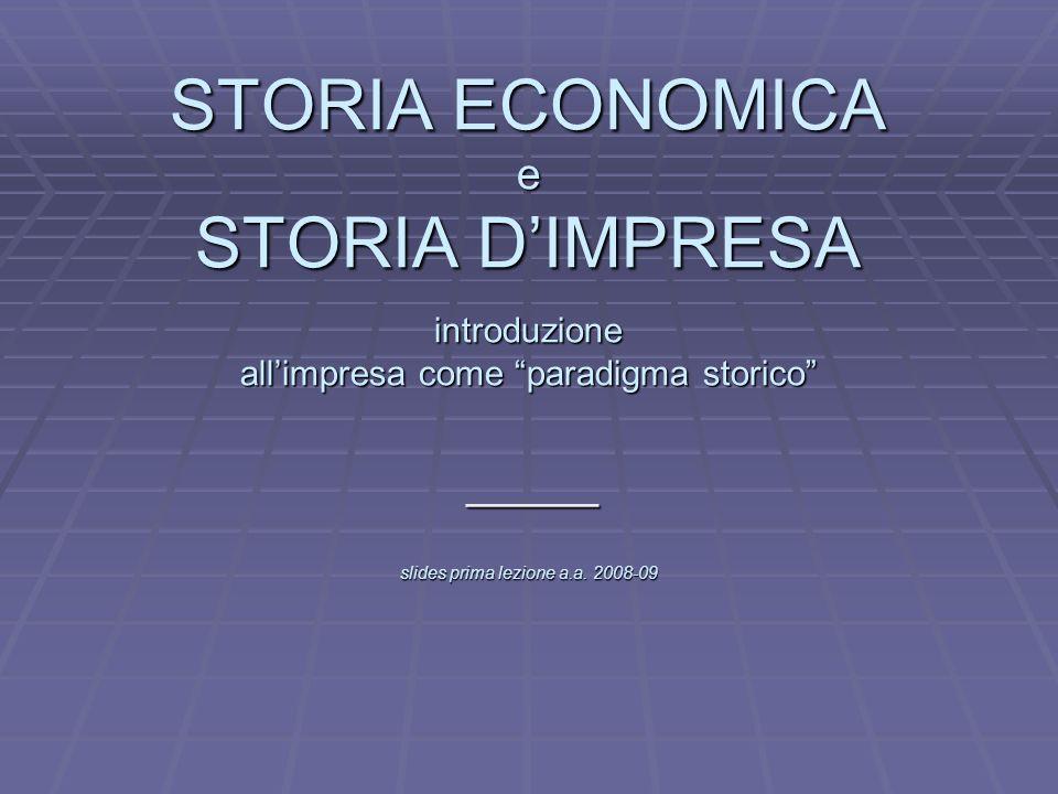 Le fonti per la storia dellimpresa in Italia Fonti pubbliche.