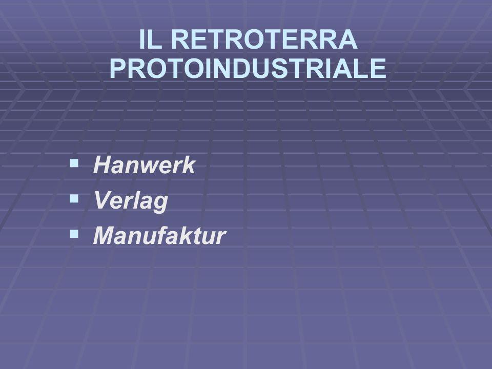Verlag Il Verlag, (o sistema dellappalto) è il sistema altrove conosciuto come quello del mercante-imprenditore.