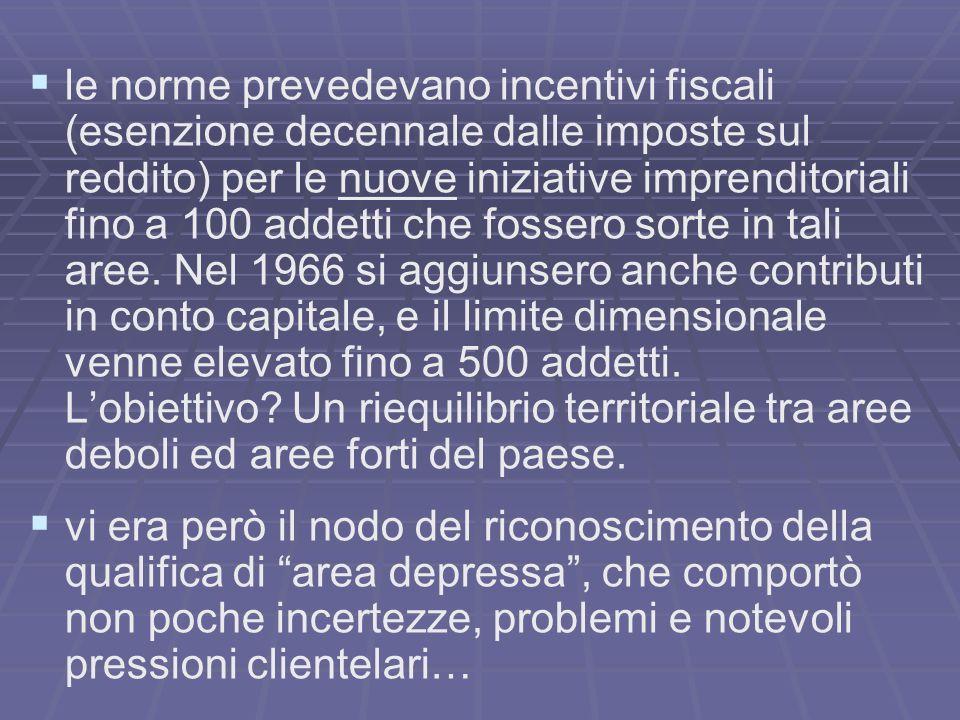 EFFETTI DI TALE LEGISLAZIONE: assegnazione a pioggia di tale classificazione in Veneto vennero ad es.