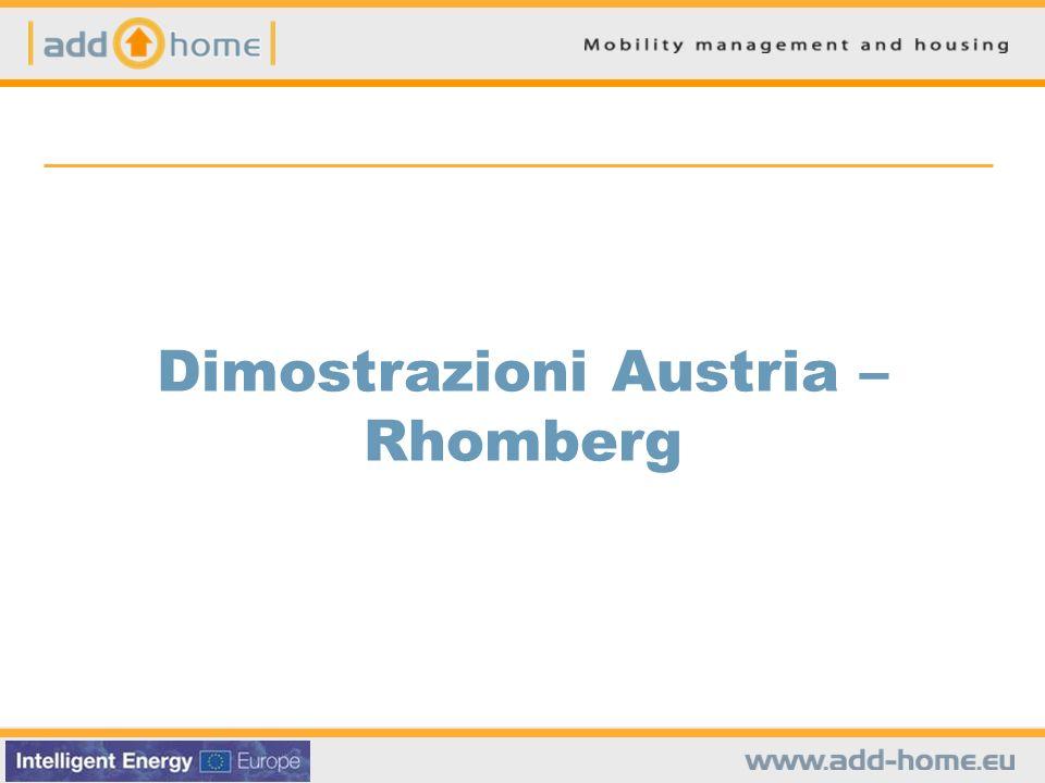 Dimostrazioni Austria – Rhomberg