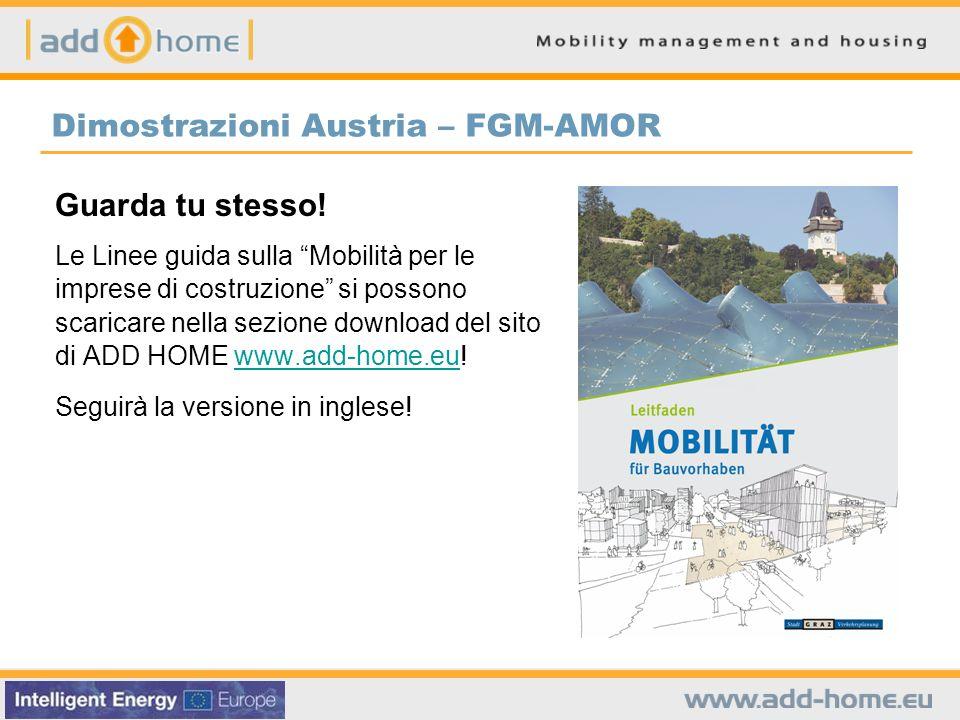 Dimostrazioni Austria – FGM-AMOR Guarda tu stesso! Le Linee guida sulla Mobilità per le imprese di costruzione si possono scaricare nella sezione down