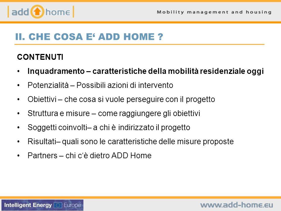 Il ruolo dei trasporti nella scelta della localizzazione della residenza Quale importanza hanno avuto, nella recente scelta della localizzazione della residenza, i seguenti aspetti.
