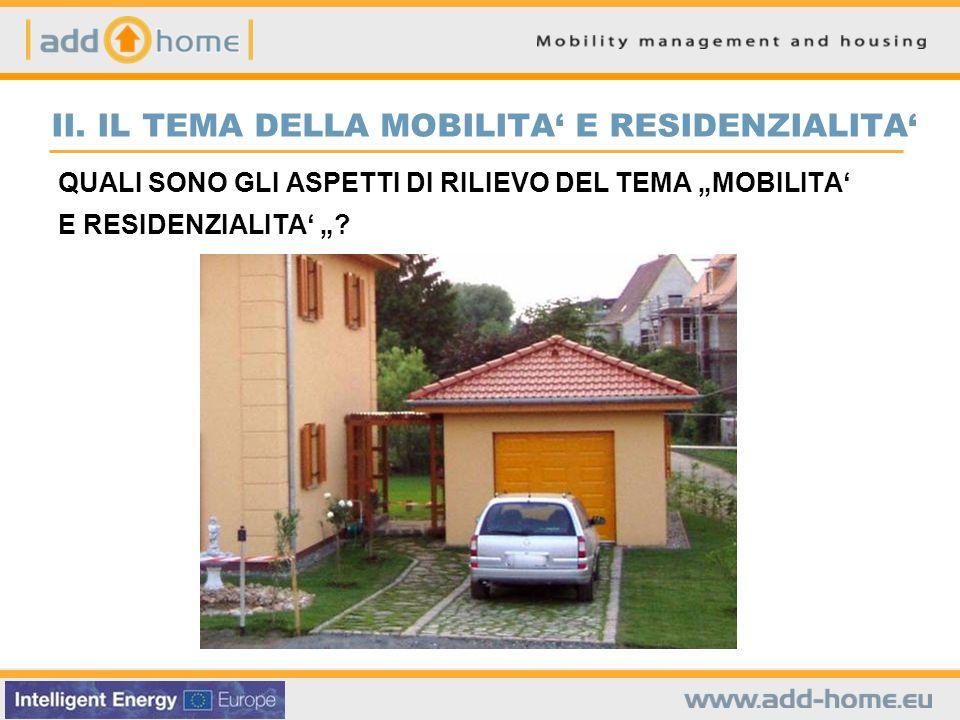 Il ruolo dei trasporti nella scelta della localizzazione della residenza Quale ruolo hanno i seguenti aspetti nella scelta della localizzazione dellabitazione .