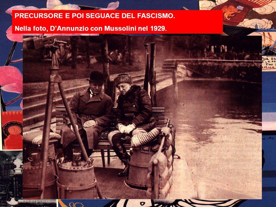 Il Vittoriale È il 14 febbraio 1921 quando Gabriele DAnnunzio va ad abitare nella villa di Cargnacco a Gardone.