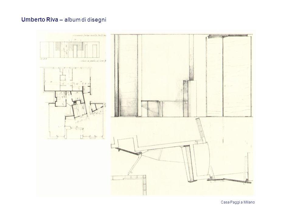 Umberto Riva – album di disegni Casa Paggi a Milano